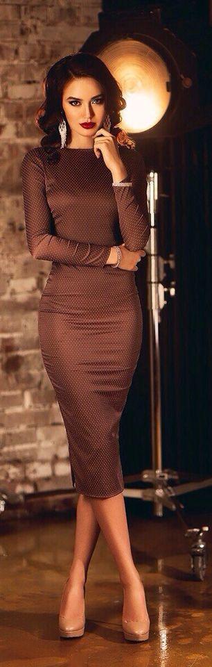 Brown Dresses For Women - Dress Xy
