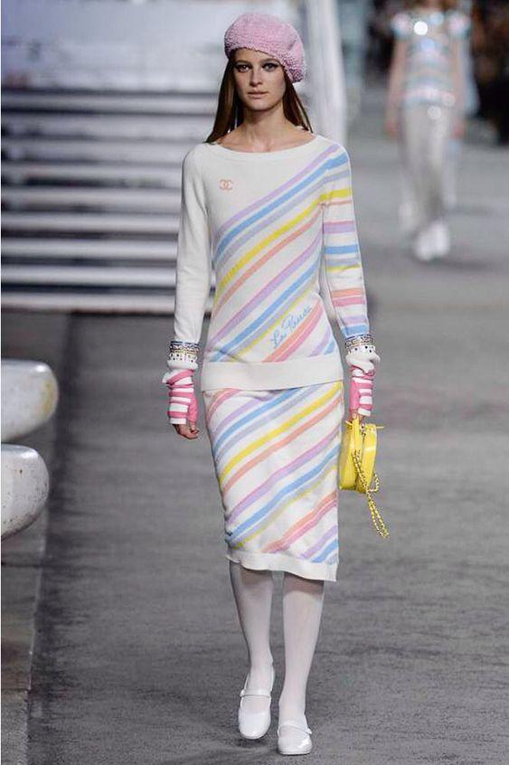 Chanel #VogueRussia #resort #springsummer2019 #Chanel #VogueCollections
