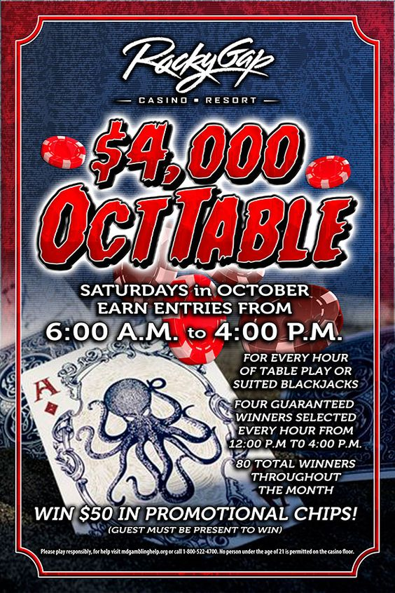 OC-TABLE!!  Calling all table game players!