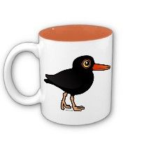 Black Oystercatcher mug.