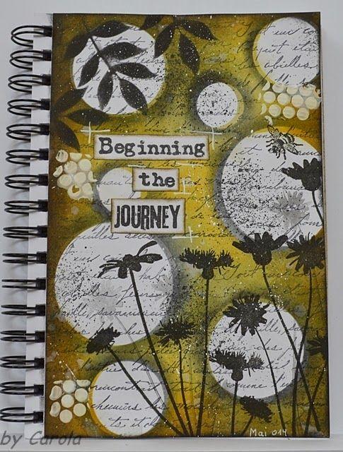 art journal inspiration http://caroskreativewelt.blogspot.de/