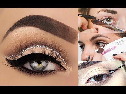 14 طريقة سهلة وسريعة لتحترفي رسم الايلاينر Eyeliner Tutorial Tricks And Eyeliner Makeup Halloween Face Makeup