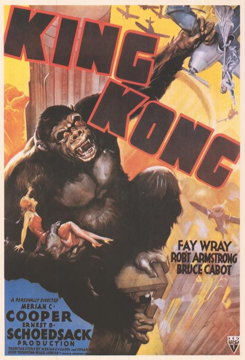 KING KONG POSTER 1933
