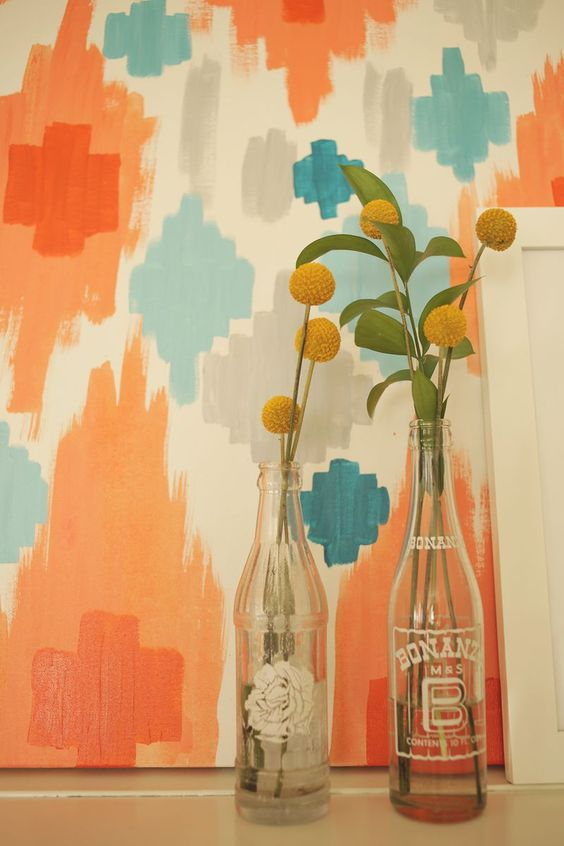Pinterest the world s catalog of ideas for Diy abstract wall art