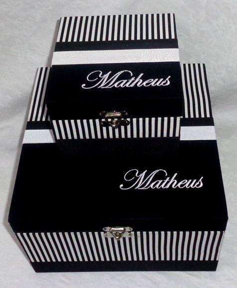 Caixa em Mdf Decorada Preto e Branca feitas especialmente para você. Mais de 168 Caixa em Mdf Decorada Preto e Branca: