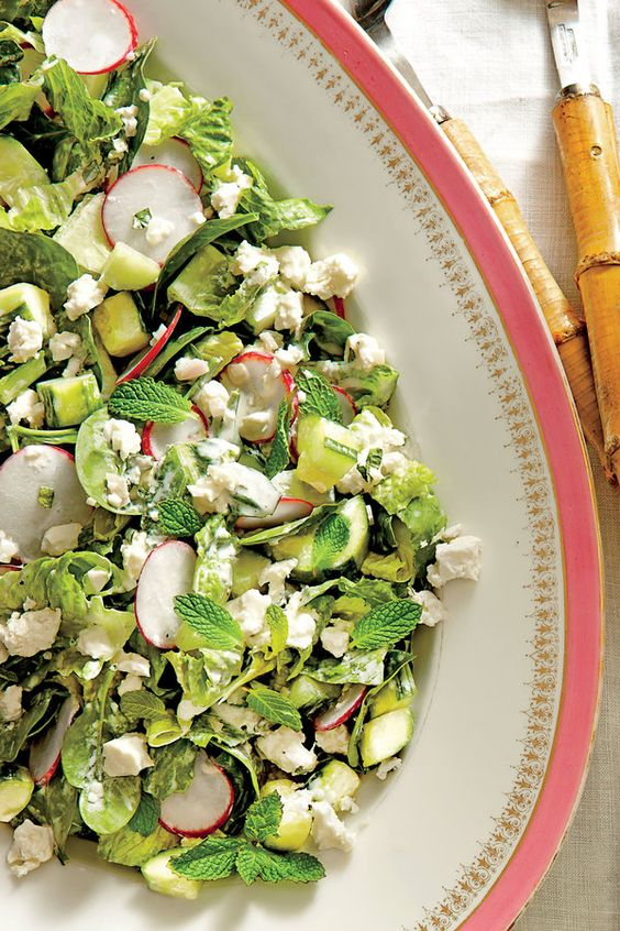 veggie savory salads and more dressing mint salads summer dresses ...