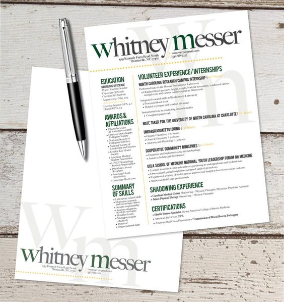 the katie lyn signature resume design amp letterhead combo graphic the katie lyn signature resume template