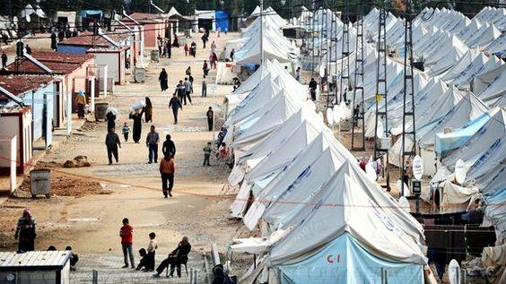 Syrische Flüchtlinge in einem Camp im Süden der Türkei http://www.zeit.de/politik/ausland/2014-04/syrien-libanon-fluechtlinge-unhcr