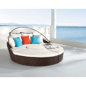 Dreamscrape - synthetic weaving chaise lounge