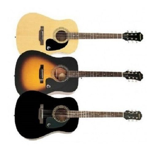 Acoustic Guitar This Entry Level Acoustic Guitar Is The Epiphone Dr 100 The Dr 100 Is The Bes Guitar For Beginners Best Acoustic Guitar Acoustic Guitar Strap