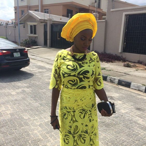 Check Out Our Latest Aso-Ebi Styles: Colorful & Eye Popping - Wedding Digest Naija