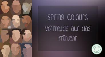 New Colour Palette Spring 2017 - Manufaktur Pusteblume #springcolours #spring