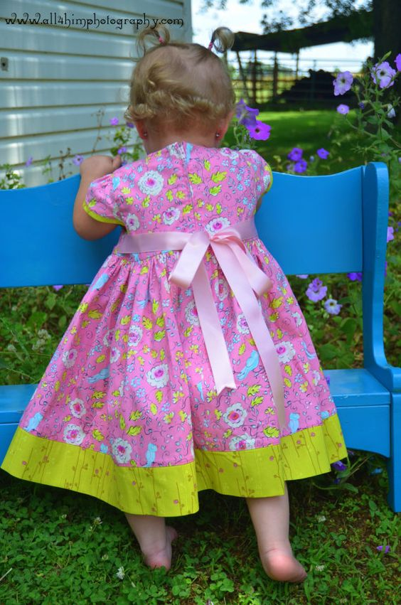 Pink Coconut Ice toddler party dress sizes 1 2 3 4 by HotFudge, $50.00