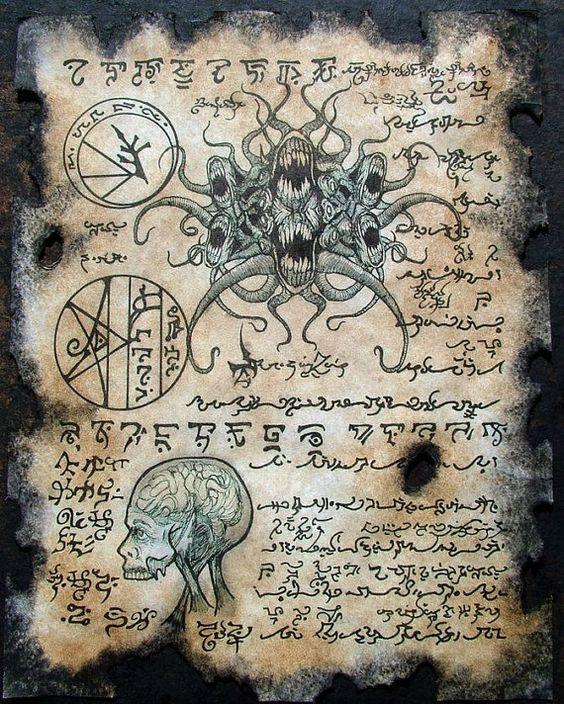 CULT of YOG SOTHOTH Cthulhu larp Necronomicon lovecraft ...