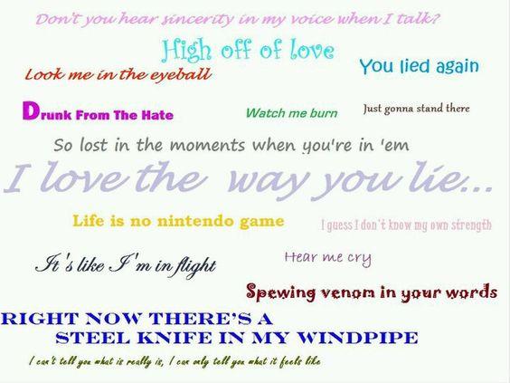 Eminem <3 Love The Way You Lie