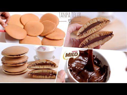 Kue Dorayaki Coklat Milo Tanpa Telur Membuat Selai Coklat Milo Sendiri Youtube Makanan Selai Coklat Makanan Dan Minuman