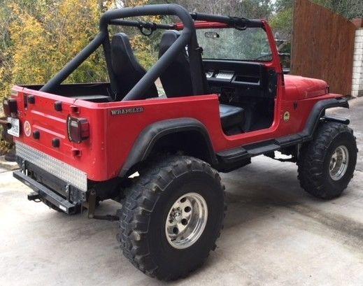 Ebay 1988 Jeep Wrangler Wrangler 1988 Jeep Wrangler Yj Sahara