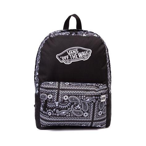 Bags with school logo - Zip Utility Pocket Embroidered Vans Logo And Adjustable Shoulder