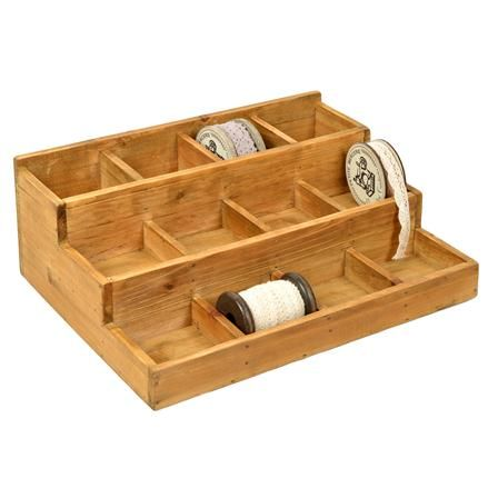 cl mentine cr ations pr sentoir escalier 12 casiers. Black Bedroom Furniture Sets. Home Design Ideas