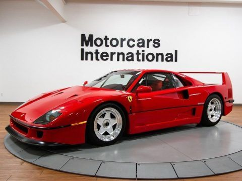 1992 Ferrari F40 For Sale Ferrari F40 Ferrari For Sale Ferrari