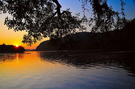 Phewa Lake at dawn