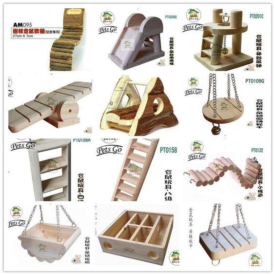 Make Homemade Hamster Toys 35