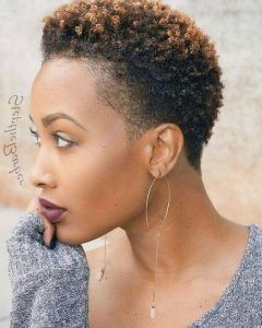 Short Natural Hairstyles For Black Women With Thin Hair Google Search Short Natural Hair Styles Short Natural Haircuts Natural Hair Styles