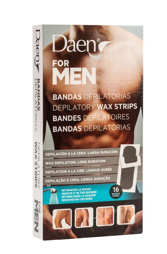 bandas depilatorias for men