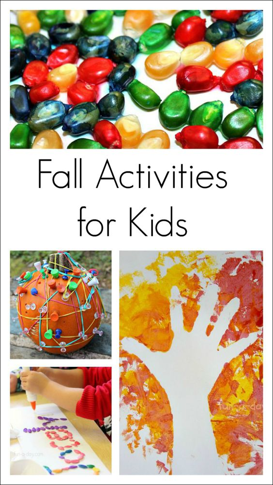Fall activities for kids fun fall activities and kids for Science arts and crafts