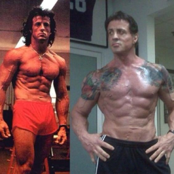 Sylvester stallone, Cardio and The o'jays on Pinterest