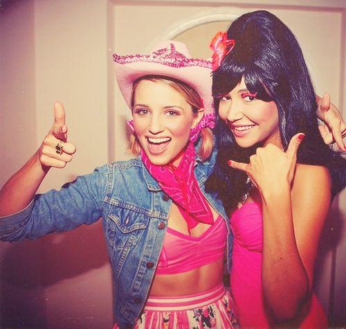 Dianna and Naya