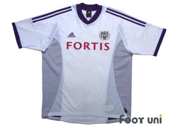 Anderlecht 2002 2003 Home Shirt In 2020 Retro Football Shirts Vintage Football Shirts Soccer Shirts