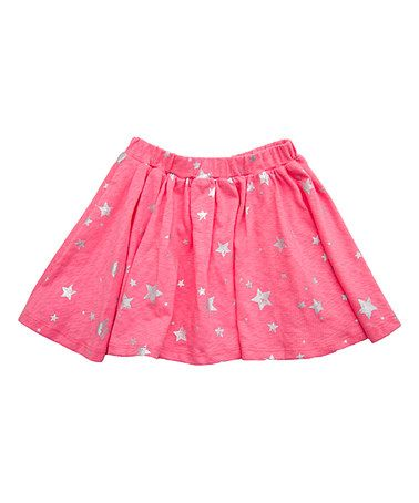 Loving this Pink Stars Soda A-Line Skirt - Infant & Toddler on #zulily! #zulilyfinds
