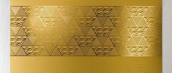 Golden Calendar - gold water - by Yurko Gutsulyak