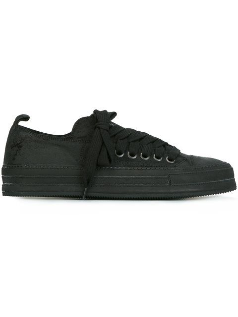 ANN DEMEULEMEESTER lace up sneakers. #anndemeulemeester #shoes #sneakers