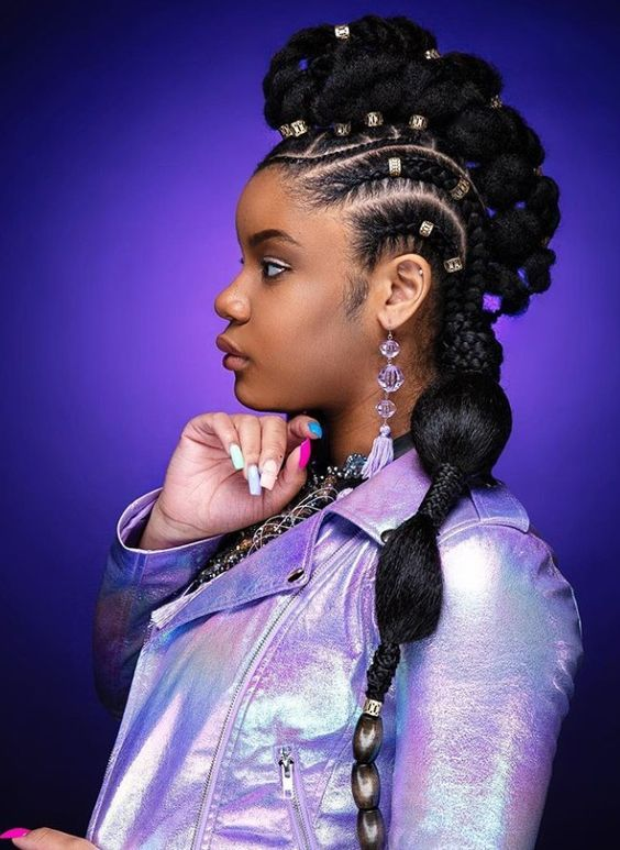 African American Hairstyles For Black Women Hair Styles Black Women Hairstyles American Hairstyles