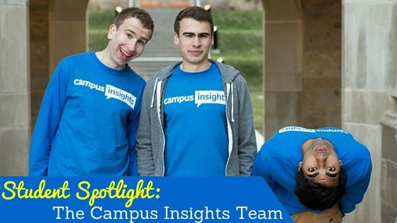 It's time for our first ever Student Spotlight showcase - learn more about the featured student-run company working to bridge the gap between businesses and the college demographic @CampusInsights from @BostonCollege and @UniversityOfMichigan.  #campusinsights #collegestudents #universityofmichigan #bostoncollege #studentruncompany #studentspotlight