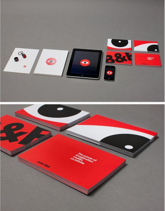 Le studio Berger & Föhr a réalisé sa propre gamme de supports imprimés comprenant entre autre cartes d'affaires, papier en tête, enveloppes, étiquettes de publipostage et de nombreuses cartes postales. From AA13