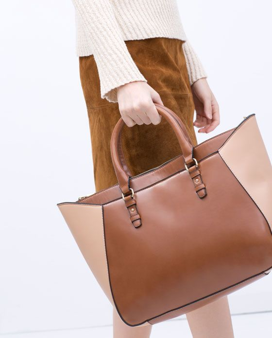 ZARA - SHOES & BAGS - SHOPPER BASKET