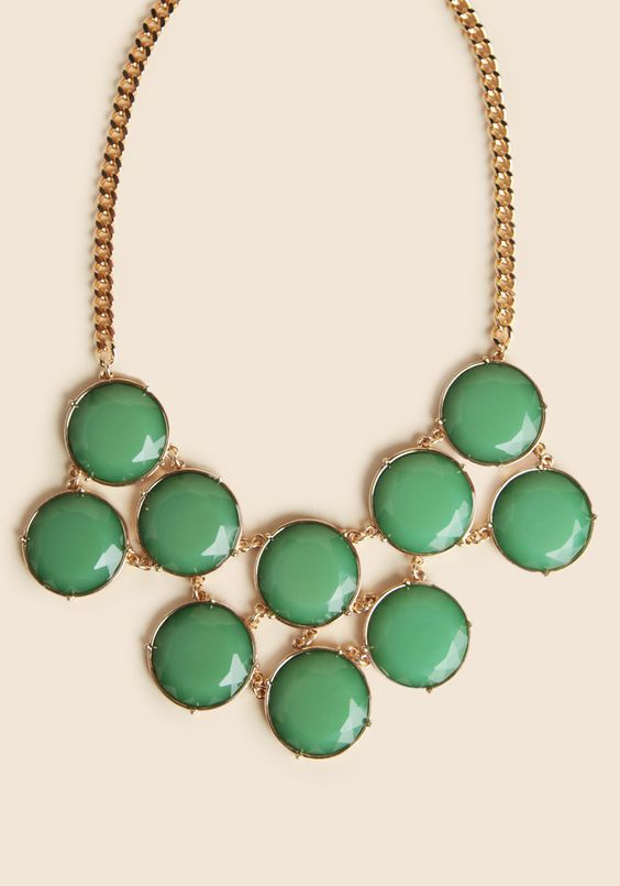 The Grass Is Greener Necklace at #Ruche @Ruche