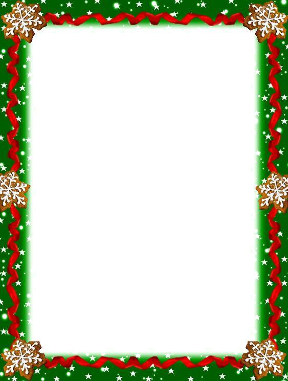 Fabulous image with regard to printable christmas borders