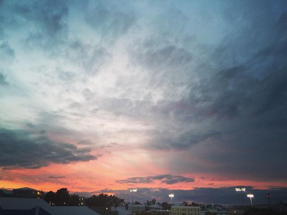 forecast: partly cloudy with a chance of the sky turning pink   #wearebermuda #gotobermuda #bermuda #blog #bermudablogger #bermudadreaming #bblogger #fblogger #flashback #lp by ashley.mars