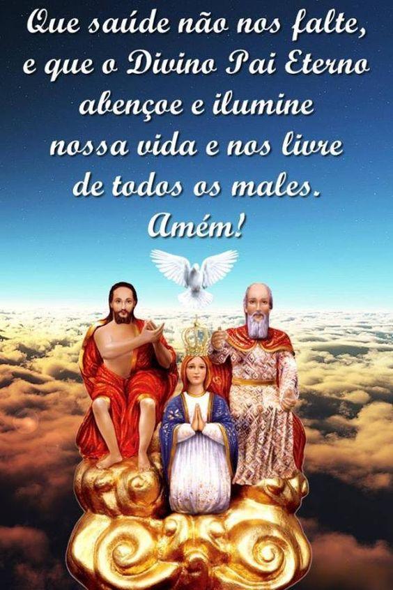 Panfletos de Orações ao Divino Pai Eterno.   Enchei-vos do Espírito Santo de Deus ...