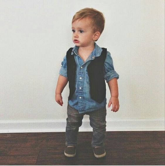 Kid Haircuts With Outfit: Little Boy Outfit- Oh My Cuteness!!!