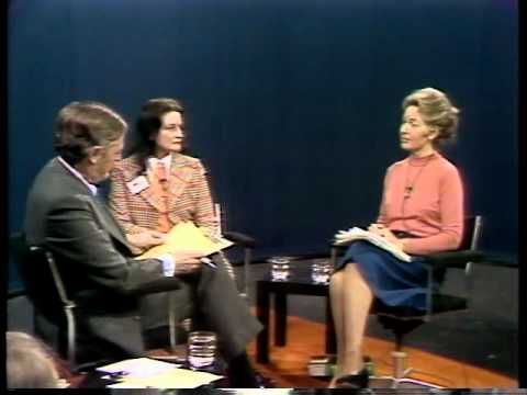 """Firing Line with William F. Buckley Jr. """"The Equal Rights Amendment""""  Phyllis Schlafly and Ann Scott Debate the ERA"""