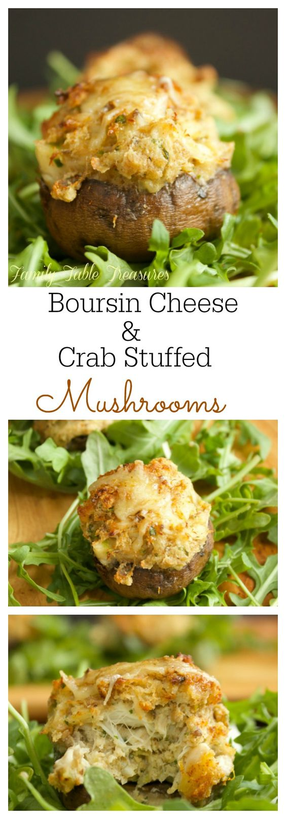 Stuffed Mushrooms | Recipe | Boursin Cheese, Crab Stuffed Mushrooms ...
