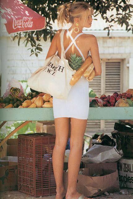 Claudia Schiffer, Vogue, June 1992.