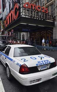NY refuerza seguridad en cines donde se exhibe Batma