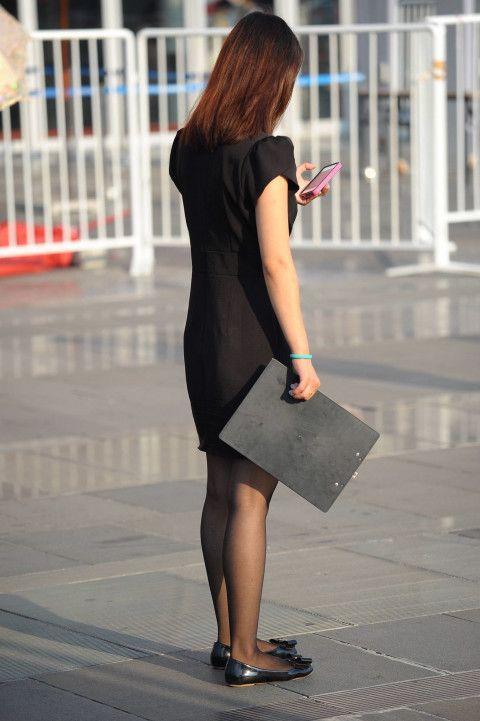 chinese beauty legs ファッションアイデア 女性 働く女性