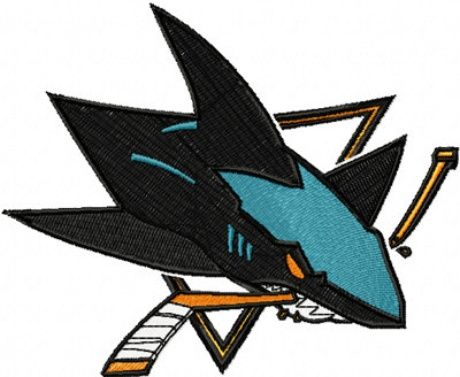 San Jose Sharks Embroidery Designs